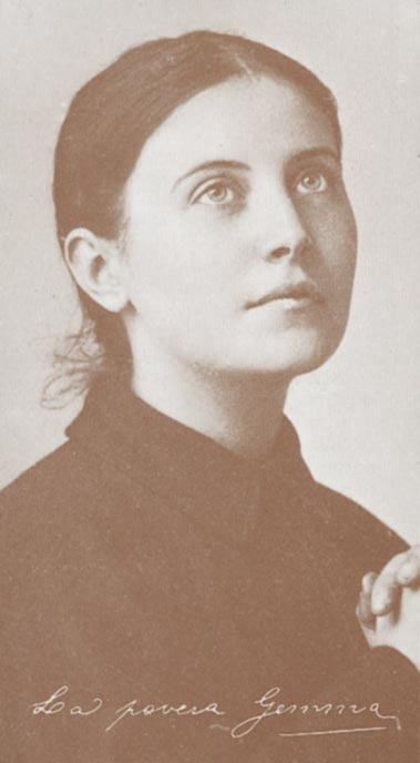 Den hellige Gemma Galgani (1878-1903)